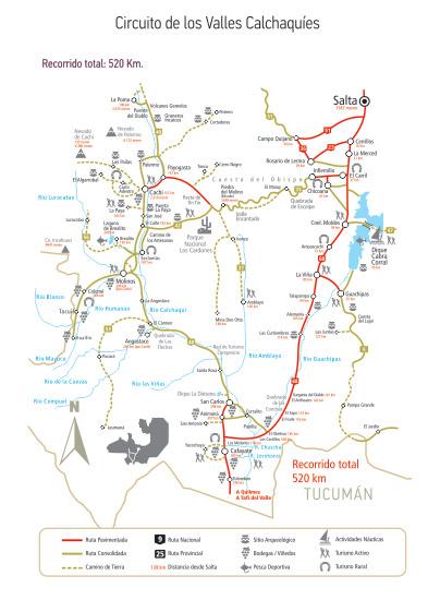 Circuito Norte Argentino En Auto : Turismo salta